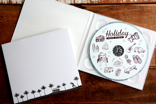 Holiday Photo date CD-ROM